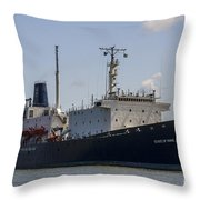 State Of Maine Throw Pillow