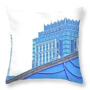 State Street  Throw Pillow