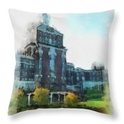 Stately Beauty Throw Pillow