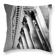 Stately Colonnade Throw Pillow