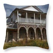 Stately Home Throw Pillow