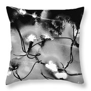 Static Automatic Throw Pillow