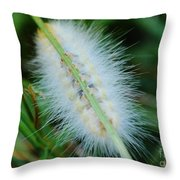 Static Throw Pillow