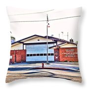 Station 127 Throw Pillow