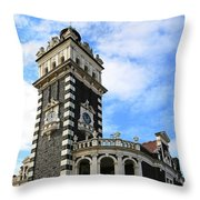 Station Tower Throw Pillow