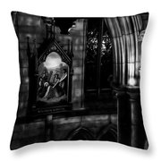 Stations Of The Cross Throw Pillow