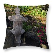 Statue In Shadows Throw Pillow