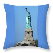 Statue Of Liberty 1 Throw Pillow