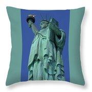 Statue Of Liberty 12 Throw Pillow