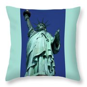 Statue Of Liberty 13 Throw Pillow