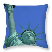 Statue Of Liberty 14 Throw Pillow