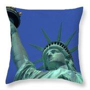Statue Of Liberty 15 Throw Pillow