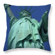 Statue Of Liberty 16 Throw Pillow