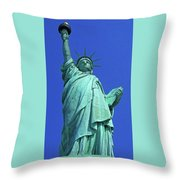 Statue Of Liberty 17 Throw Pillow