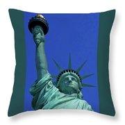 Statue Of Liberty 18 Throw Pillow