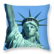 Statue Of Liberty 5 Throw Pillow