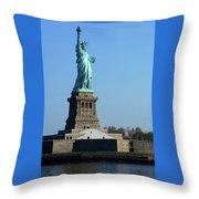 Statue Of Liberty 6 Throw Pillow