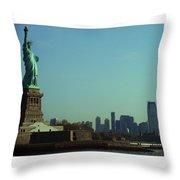 Statue Of Liberty 7 Throw Pillow