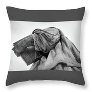 Statue Of Liberty, Arm, 2 Throw Pillow