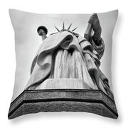 Statue Of Liberty, Tall Throw Pillow