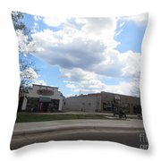 Statues Throw Pillow