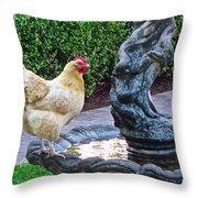 Statuesque Throw Pillow