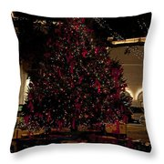 St.augustinelights4 Throw Pillow