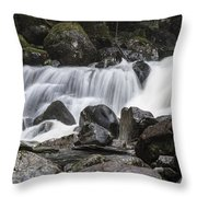 Stave Falls Throw Pillow