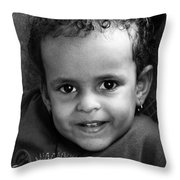 Stay Away Fly  Throw Pillow