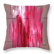 Staying Between The Lines Throw Pillow