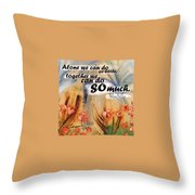 S T C Batch 81 Throw Pillow