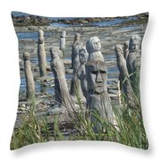 Ste Flavie Throw Pillow