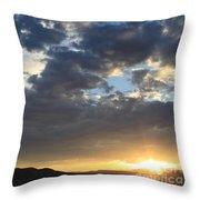 Steadfast, Into Tomorrow Throw Pillow