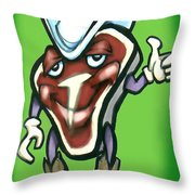 Steak Throw Pillow