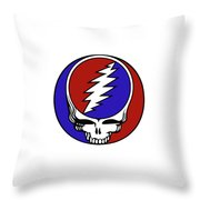 Steal Your Face Throw Pillow