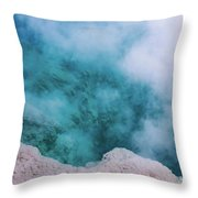Steam Hole Throw Pillow