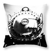 Steam Locomotive #253 Throw Pillow