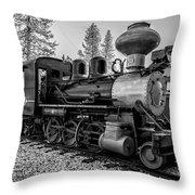 Steam Locomotive 5 Throw Pillow