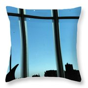 Steam Pipe Explosion Throw Pillow