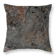 Steam Punk Lace Throw Pillow