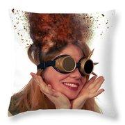 Steam Punk Throw Pillow