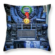 Steam Tidings Throw Pillow
