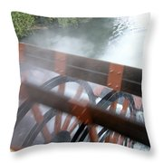 Steamboat Throw Pillow