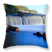 Steamboat Rock Panorama 2 Throw Pillow