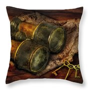 Steampunk - Extendo Optics  Throw Pillow