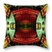 Steampunk Machination 4 Throw Pillow