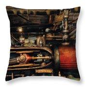 Steampunk - No 8431 Throw Pillow