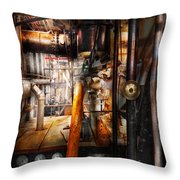 Steampunk - Plumbing - Pipes Throw Pillow