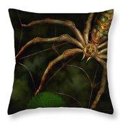 Steampunk - Spider - Arachnia Automata Throw Pillow