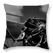 Stearman Pt-18 Kadet - 1940 Throw Pillow